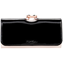 Buy Ted Baker Versa Bow Crystal Matinee Purse, Black Online at johnlewis.com