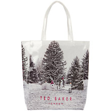 Buy Ted Baker Snowcon Shopper Bag, Nude Pink Online at johnlewis.com