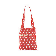 Buy Radley Hibbert Foldaway Shopper, Coral Online at johnlewis.com