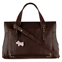 Buy Radley Barnsley Leather Medium Zipped Multiway Grab Bag Online at johnlewis.com