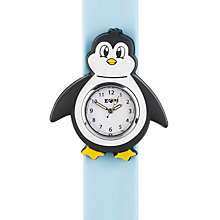 Buy Anisnap Penguin Watch, Blue/Multi Online at johnlewis.com
