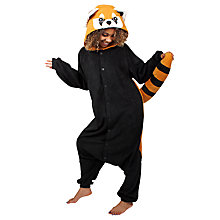 Buy Kigu Red Panda Onesie, Brown Online at johnlewis.com