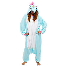 Buy Kigu Unicorn Onesie, Blue Online at johnlewis.com