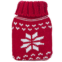 Buy Fair Isle Hand Warmer, Red Online at johnlewis.com