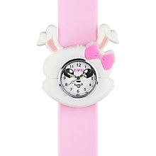 Buy Anisnap Rabbit Watch, Pink Online at johnlewis.com