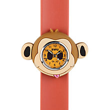 Buy Anisnap Monkey Watch, Brown Online at johnlewis.com