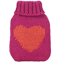 Buy Heart Hand Warmer, Pink Online at johnlewis.com