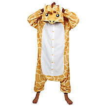 Buy Kigu Giraffe Onesie, Yellow/Brown Online at johnlewis.com