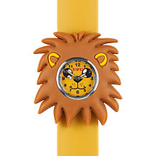 Buy Anisnap Lion Watch, Brown/Yellow Online at johnlewis.com