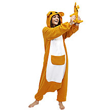 Buy Kigu Kangaroo Onesie, Brown Online at johnlewis.com