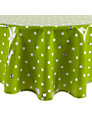 Oily Rag Spotty Round Tablecloth, Dia.130cm