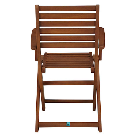 Buy John Lewis Naples Folding Dining Armchairs, Set of 2 Online at johnlewis.com