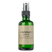 Buy Neville Shave Oil, 50ml Online at johnlewis.com