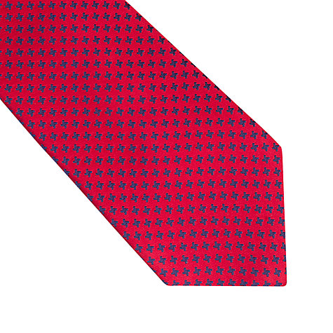 Buy Thomas Pink Oldbury Houndstooth Woven Tie Online at johnlewis.com