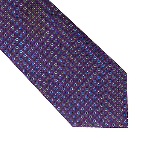 Buy Thomas Pink Stratton Grid Woven Tie Online at johnlewis.com