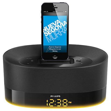Buy Philips DS1600 DualDock Internet Radio Dock with Apple Lightning & 30 Pin Online at johnlewis.com