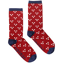 Buy Seasalt Sailor Hanky Dot Bamboo Mix Ankle Socks Online at johnlewis.com