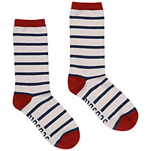 Buy Seasalt Sailor Breton Bamboo Mix Socks, Ecru, 1 Pair Online at johnlewis.com