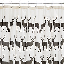 Buy Anorak Kissing Stags Shower Curtain Online at johnlewis.com