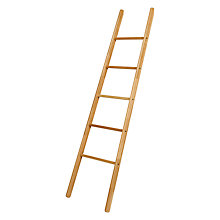 Buy John Lewis Croft Collection Selby Towel Ladder Online at johnlewis.com