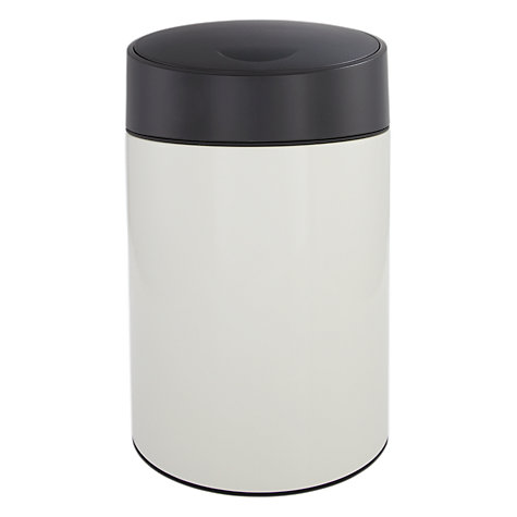 Buy Brabantia Bathroom Slide Bin, White, 5L Online at johnlewis.com