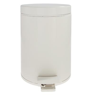Brabantia Bathroom Pedal Bin, White, 5L