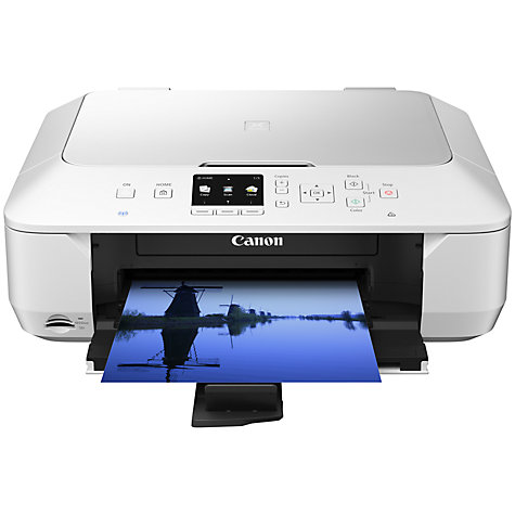 Buy Canon Pixma MG6450 Wireless All-In-One Printer, White Online at johnlewis.com