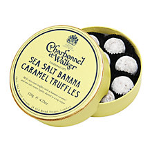 Buy Charbonnel et Walker Sea Salt Banana Caramel Truffles, 120g Online at johnlewis.com
