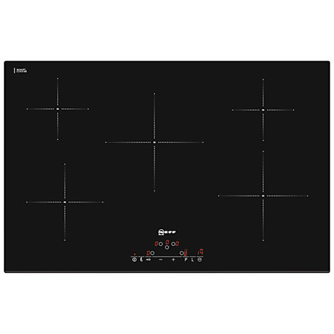 Buy Neff T41D82X2 Induction Hob, Black Online at johnlewis.com