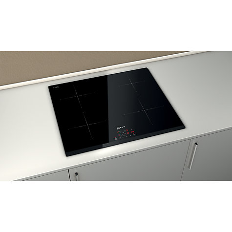 Buy Neff T41B30X2 Induction Hob, Black Online at johnlewis.com