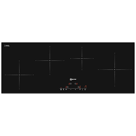 Buy Neff T41D90X2 Induction Hob, Black Online at johnlewis.com