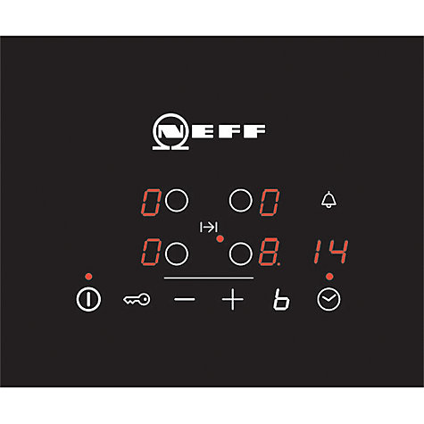Buy Neff T40B31X2GB Induction Hob, Black Online at johnlewis.com