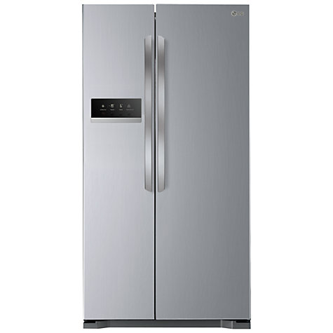Buy LG GSB325NSQV American Style Fridge Freezer, Premium Steel Online at johnlewis.com
