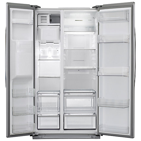 Buy LG GSL325PVQV American Style Fridge Freezer, Platinum Silver Online at johnlewis.com
