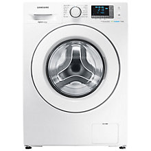 Buy Samsung WF90F5E3U4W ecobubble™ Freestanding Washing Machine, 9kg Load, A+++ Energy Rating, 1400rpm Spin, White Online at johnlewis.com
