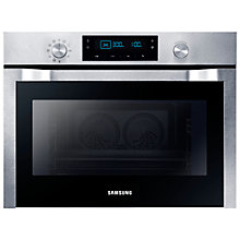 Buy Samsung NQ50C7535DS Neo Compact Single Electric Oven with Microwave, Stainless Steel Online at johnlewis.com
