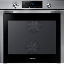 Buy Samsung NV70F584DS Single Electric Oven, Stainless Steel Online at johnlewis.com