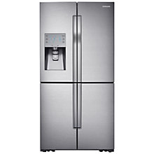 Buy Samsung RF858VALASL American Style Fridge Freezer, Stainless Steel Online at johnlewis.com