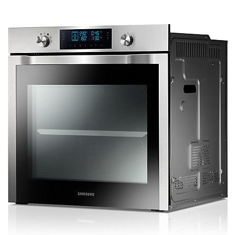 buy samsung nv70f7786hs dual cook single electric oven stainless steel john lewis. Black Bedroom Furniture Sets. Home Design Ideas