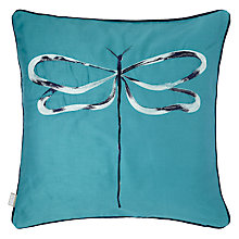 Buy Scion Dragonfly Embroidered Cushion Online at johnlewis.com