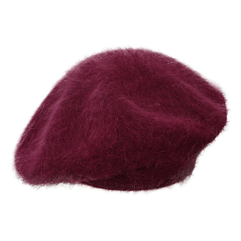 Buy East Annie Beret, Merlot Online at johnlewis.com