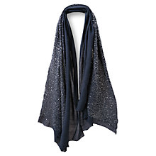 Buy East Tiny Sequin Embroidered Scarf Online at johnlewis.com
