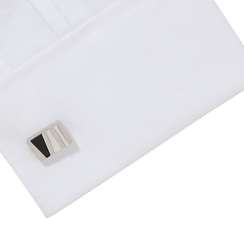 Buy John Lewis Mop & Oynx Shards Cufflinks Online at johnlewis.com