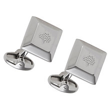 Buy Mulberry Tapered Square Cufflinks Online at johnlewis.com