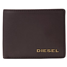 Buy Diesel Grainy Neela XS Leather Wallet, Brown Online at johnlewis.com