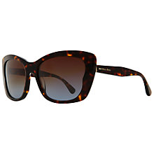 Buy Miu Miu MU 03OS2AU1F0 Cat's Eye Sunglasses, Tortoise Online at johnlewis.com
