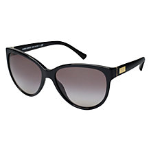 Buy Giorgio Armani AR8021 501711 Cat's Eye Sunglasses, Black Online at johnlewis.com