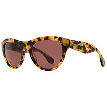 Buy Miu Miu MU09OS Oval Acetate Framed Sunglasses Online at johnlewis.com