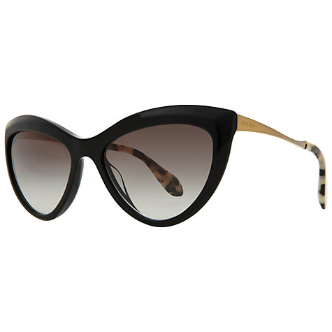 Buy Miu Miu MU08OS Retro Style Cat's Eye Sunglasses Online at johnlewis.com