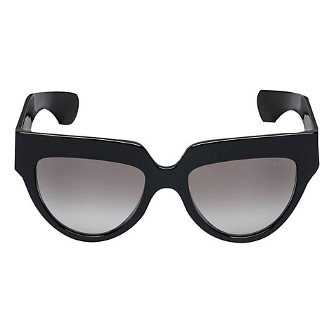 Buy Prada PR 29PS 1AB0A7 D-Shape Sunglasses,Black Online at johnlewis.com